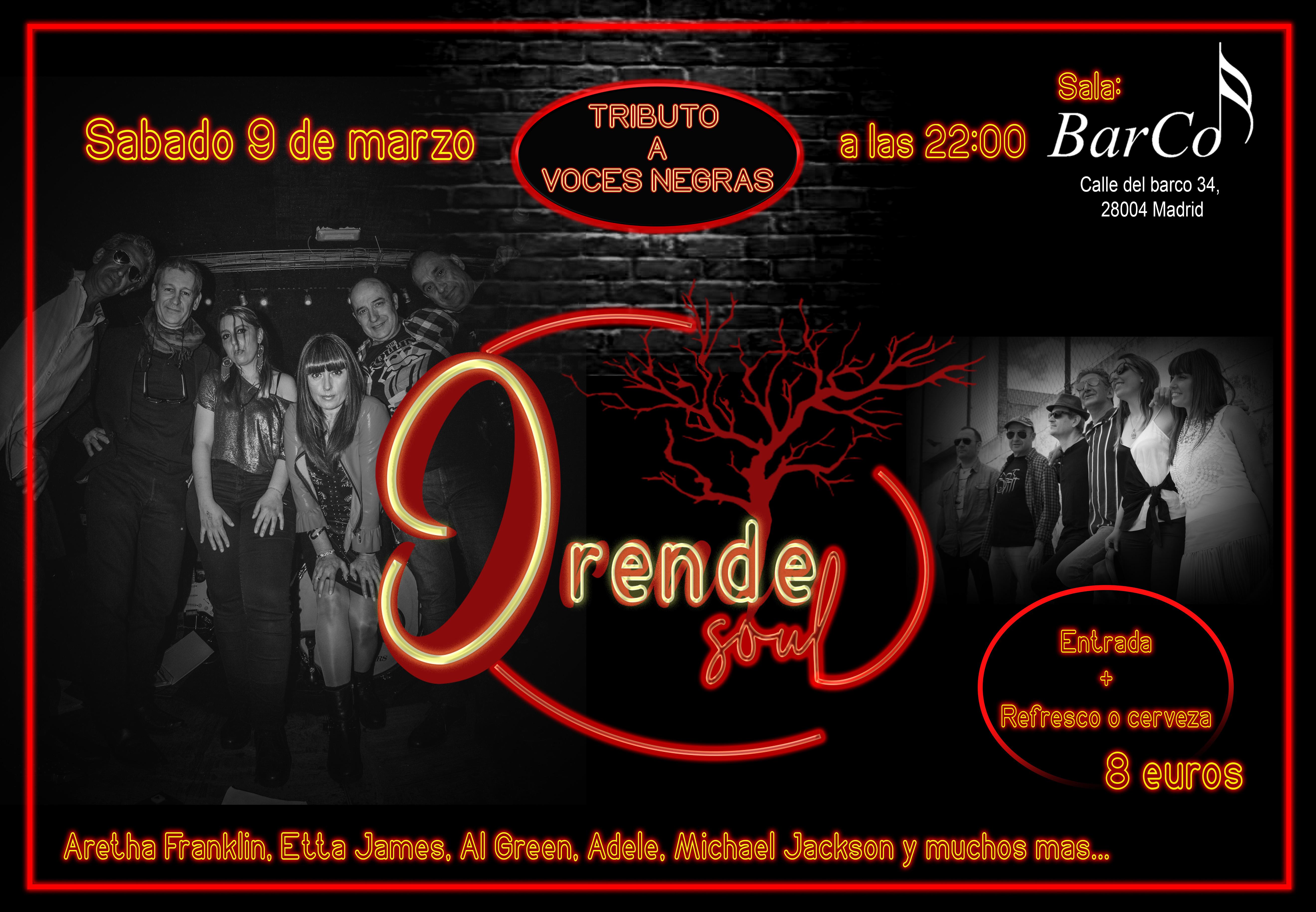 Presentación Orende Soul 09/03/19